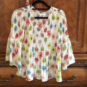 Loose, flowing blouse, size s/p.